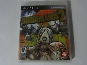 EUC Borderlands 2 Sony Playstation 3 PS3 Game Complete Free