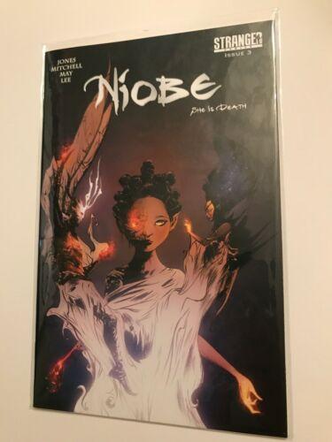 BJae Lee NIOBE SHE IS DEATHSTRANGER COMICSSELECT OPT1 2 3 CVR A