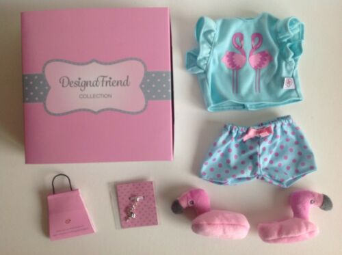 """Progettazione di un amico Pigiama Abbigliamento per Chad Valley Bambola designafriend 18/"""" NUOVO"""