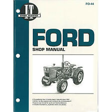 Iampt Shop Manual Fo 44 Fits Ford Holland Holland Nh 1100 1110 1200 1210 1300 13