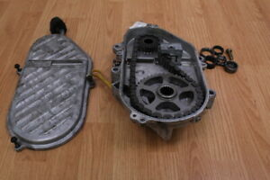 2002-SKI-DOO-SUMMIT-ZX-800-Chain-Case-With-Cover-amp-Sprockets-21-43-Gearing