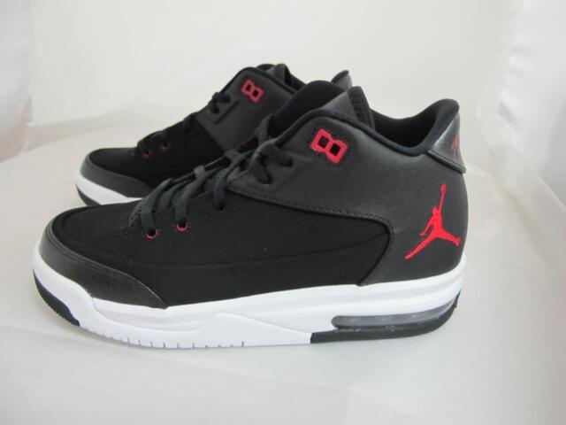 9e85bac62d2 Jordan Flight Origin 3 BG Youth Shoes Black Gym Red White 820246-001 ...