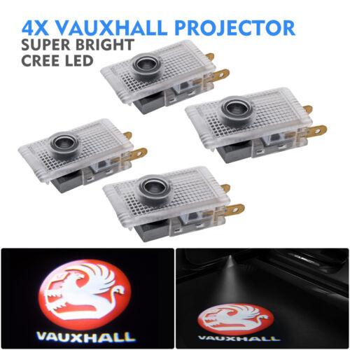 Vauxhall CREE LED Luz de puerta de coche Proyector Charco Cortesía entrying con logotipo de luz