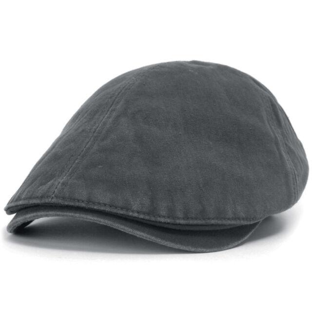 ililily Washed Cotton Flat Cap Cabbie Hat Gatsby Ivy Irish Hunting ... 8b21bf0bb3cc