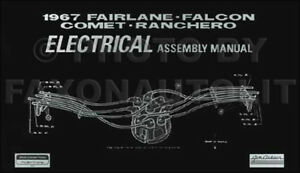 1967-Mercury-Electrical-Assembly-Manual-Comet-Cyclone-Capri-Caliente-Wiring