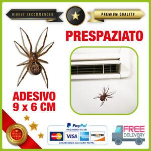 Adesivo-RAGNO-SCHERZO-Vinile-PVC-Prespaziato-Per-Auto-Moto-Casco-TUNING-sticker