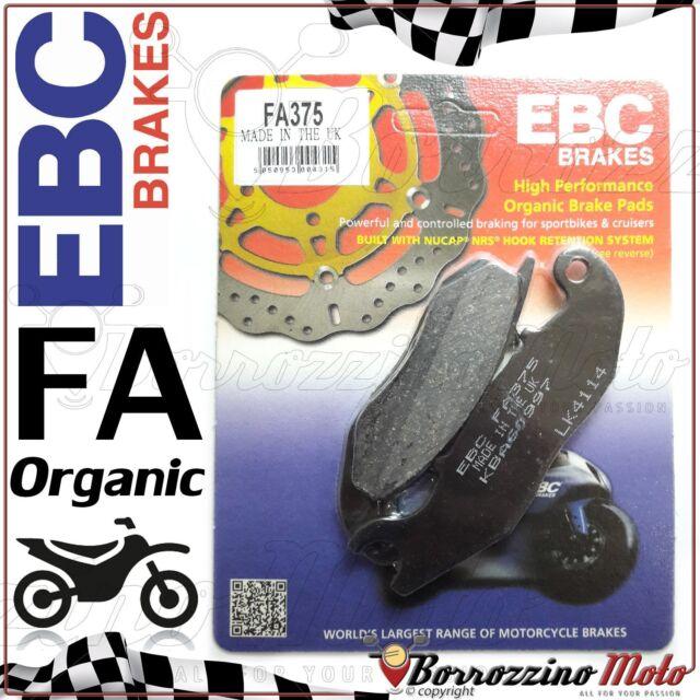 PASTIGLIE FRENO ANTERIORE ORGANIC EBC FA375 RIEJU NKD 50 2008 2009 2010