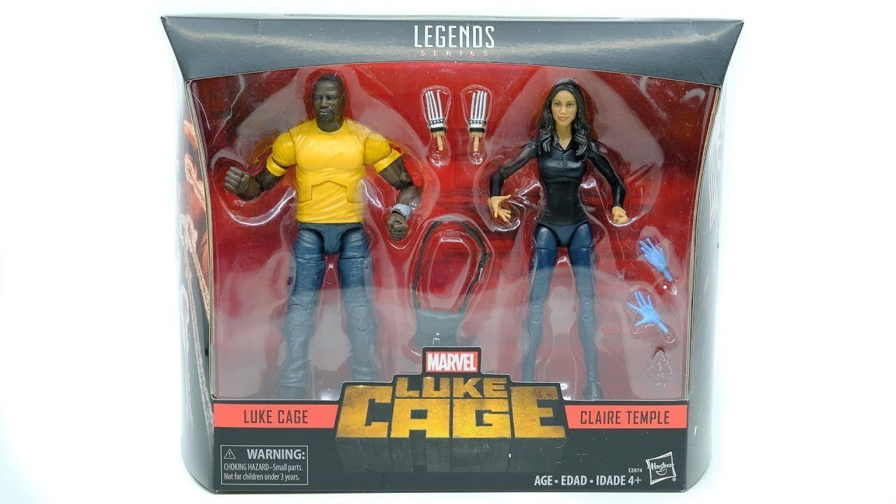 Marvel Legends 10th Anniversary 6  LUKE CAGE & CLAIRE TEMPLE Figure Set of 2 New