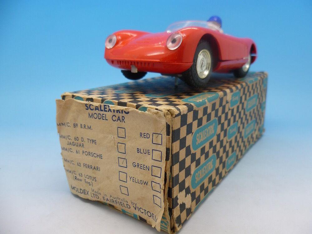 Scalextric C61 Porsche Rare Australian Issue box and car in great condition