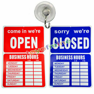OPEN-CLOSED-BUSINESS-HOURS-SIGN-Store-Window-New-35-X-24-cm