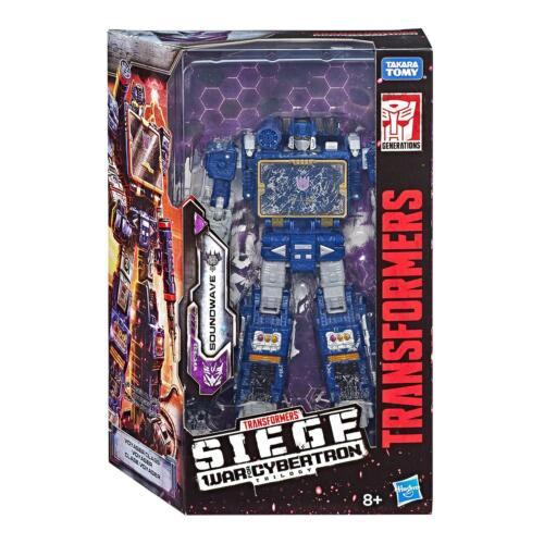 Transformers WAR for Cybertron ASSEDIO VOYAGER CLASSE Soundwave figura da Hasbro