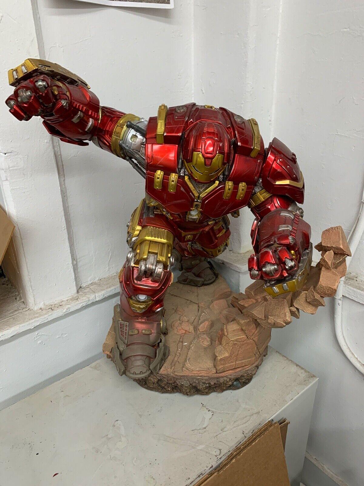 Marvel Iron Studios HULKBUSTER Iron Man 1/6 New Avengers endgame No Reserve! on eBay thumbnail