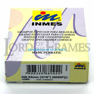 5mm Inmes Normal Wood Universal Uni Wedges V Nails Join Picture