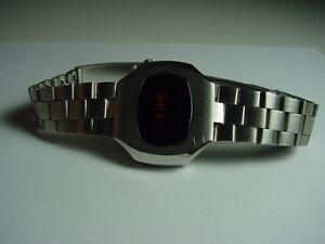 Armbanduhr-PALLAS-PARA-LED-getragener-Zustand-Herrenuhr