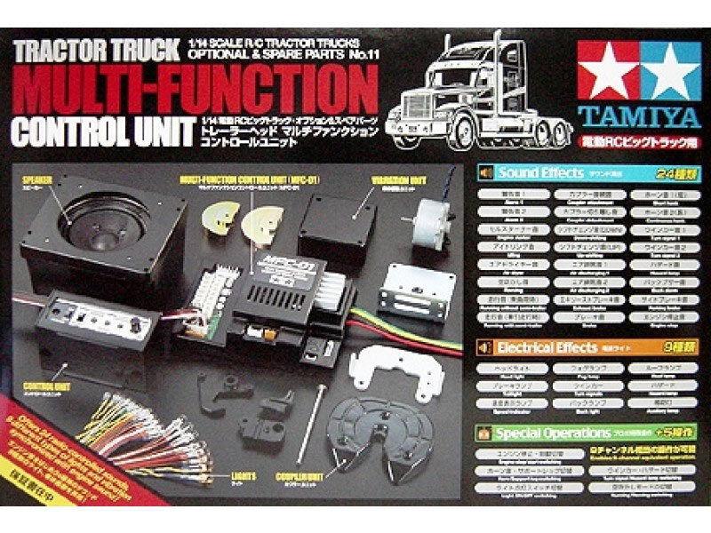 TAMIYA RC 56511 56511 56511 Tracteur Camion Multi Fonction Unité De ComFemmede-RC Accessoire 283a14