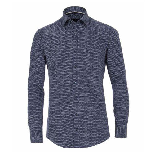 Casamoda Herren Hemd Langarmhemd Businesshemd Amrkleid Oberbekleidung Mode blau