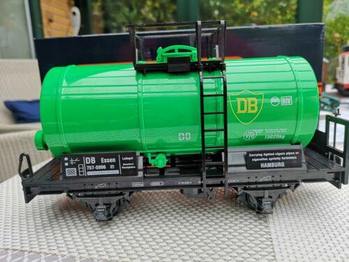 Für LGB   NEWQIDA Tankwagen grün  brandneu in Box b