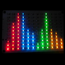 DIY Kit Mixture Audio Indicator LED Spectrum Red Blue Green Yellow FFT Voice