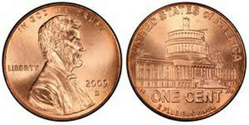 LP4 2009 D Lincoln Bicentennial Cent BU Lincoln Presidency