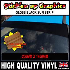 Plain//Personalised Coloured matt windscreen SUNSTRIP 85mm x 1.5m car van boat