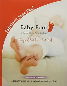 Baby-Foot-Exfoliant-Peel-Lavender-Scented-Sealed-Original-Box
