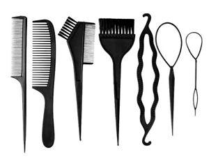 7pcs-Hair-Comb-Women-Hair-Brush-Twist-Styling-Bun-Maker-Braid-Dyeing-Tools