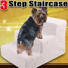 Pet Soft Plush Steps Ladder Washable Cover Portable Doggy Stairs Ramp Dog Cat