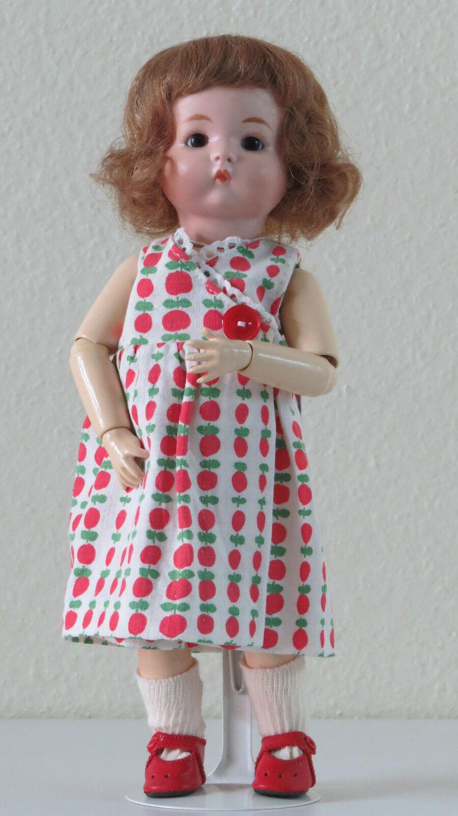 Sólo Me (A.M 310 ) 29 cm 11.6 Pulgadas Muñeca Antigua Reproducción Antique doll