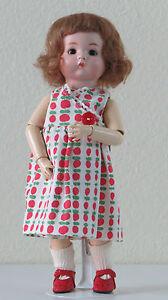 Just Me (a.m 310 ) 29 Cm 11.6 Inch Poupée Ancienne Reproduction Antique Doll