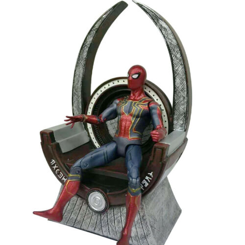 8/'/' Wakanda Black Panther Throne Base Station Prop Statue Action Figure Toy