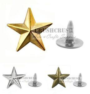 (vous Choisissez Couleur) 20pcs 14 Mm Ranger Star Rivet Jean Boutons Décoration 3d Rv045-afficher Le Titre D'origine