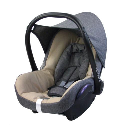 Maxi-cosi cabriofix bébé chiné gris//beige Bambiniwelt Remplacement Référence 6tlg