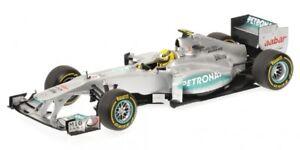 Mercedes Petronas W03 F1 Modèle Nico Rosberg Showcar 2012 Formule 1 1:18