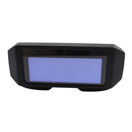 Auto Darkening Schweißhelm Maskenbrille Schwarz, Solar Schweißerbrille