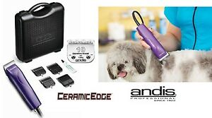 Andis Pro Chien De Compagnie Kit Coupe-ongles W / Ceramicedge 10 Lame, 4 Guide