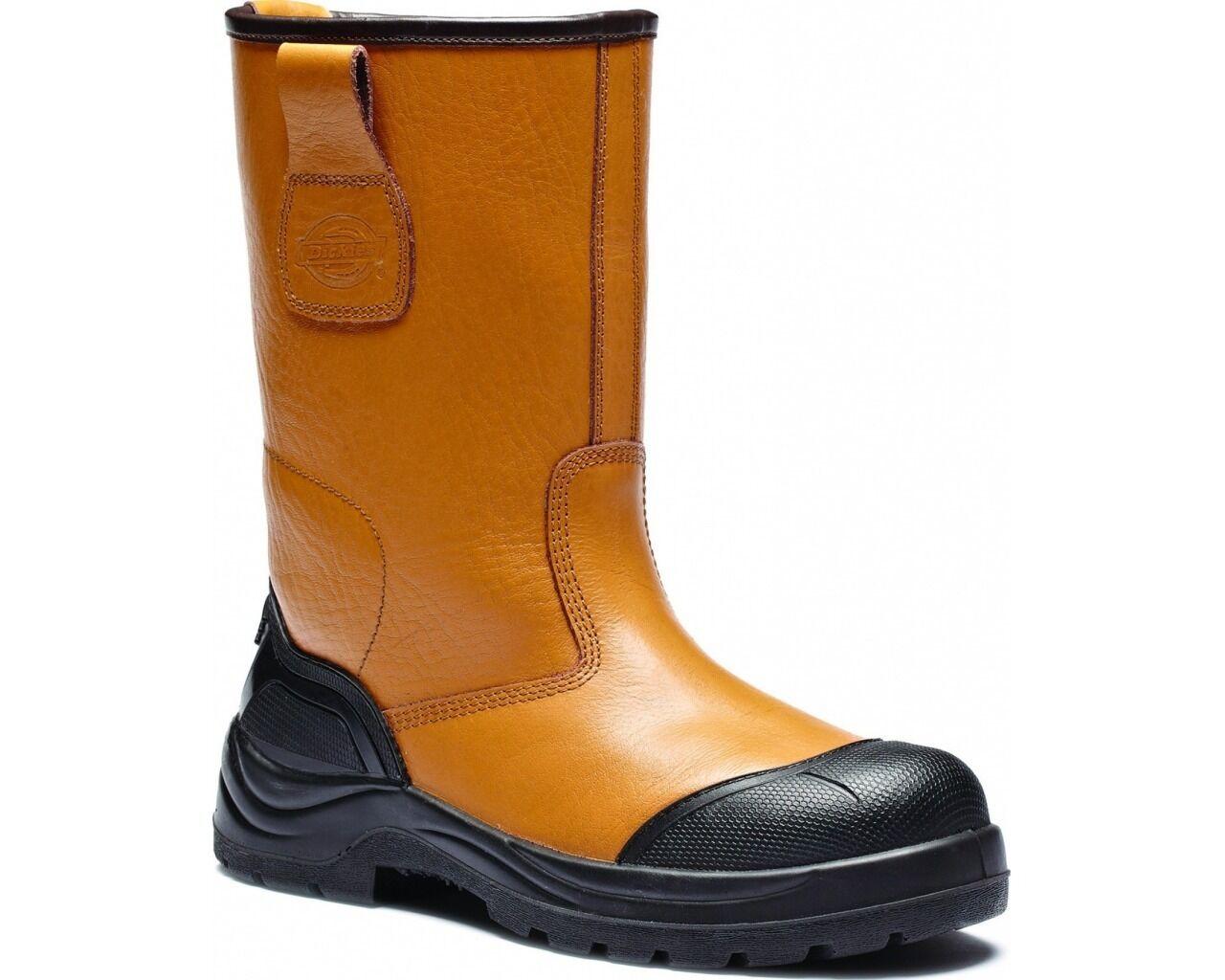 Herren Gefüttert Ausleger Stiefel Coweta so Stahlkappe Sicherheit Arbeitsstiefel