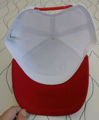 Children/'s Place Love Canada Red White Snapback Cap Hat Maple Leaf Size L//XL 8+