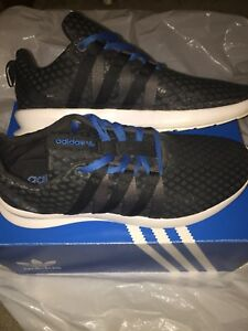 pretty nice cd795 77f00 Image is loading Black-and-Blue-Adidas-SL-Loop-Ct-Men-