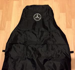MERCEDES BENZ VITO PREMIUM VAN SEAT COVER PROTECTOR X1 WATERPROOF BLACK