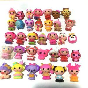 Random 10x Lalaloopsy MGA Dolls Mini Figure Cute Doll girl gift cake topper