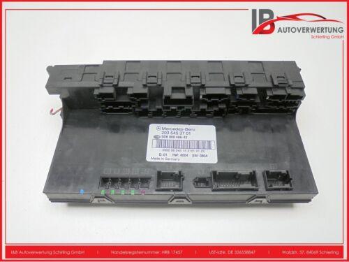 Mercedes Benz ► W203 C-Klasse Original Sicherungskasten SAM Modul ► A 2035453701