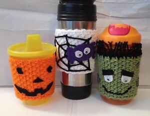 image is loading coffee mug sippy cup cozy 039 s halloween