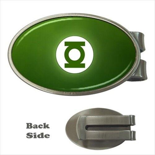 Green Lantern Chrome Money Clip