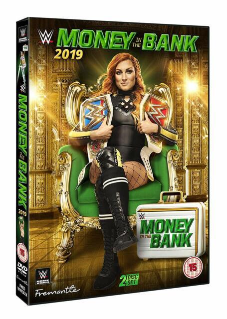 WWE Money in the Bank 2019 [2x DVD] *NEU* Deutsch Deutscher Kommentar