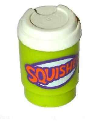 LEGO SQUISHEE DRINK ~ Lego Minifigure Food Accessory from the Simpsons Set   NEW