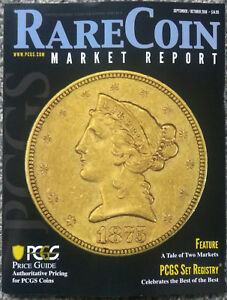 Details about PCGS Rare Coin Market Report Magazine September October 2018  Price Guide Markets