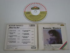 BONNIE BIANCO/MISS YOU SO(KARUSSELL 839 915-2) CD ALBUM