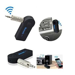 Jack Stereo Adapter Bluetooth Receiver 3.5mm AUX Wireless Transmitter Audio-Plug