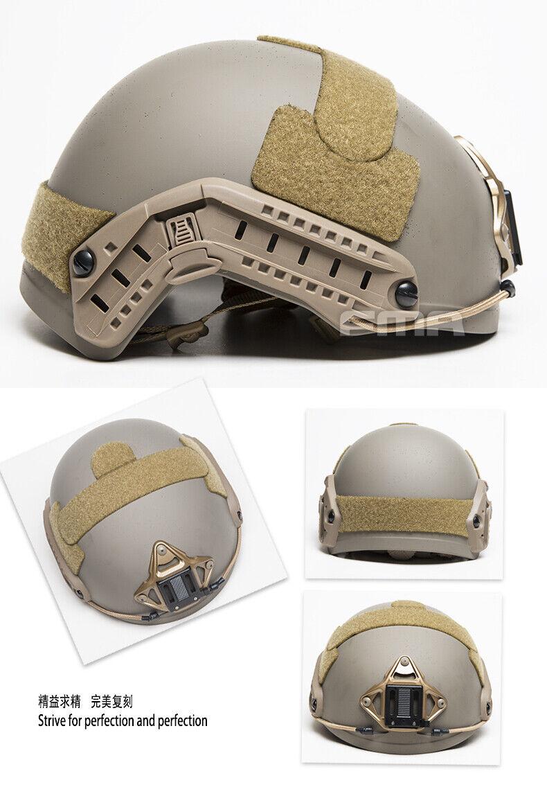 15 Colors FMA balística casco  táctico airsoft aramida Grueso Pesado Versión  calidad fantástica
