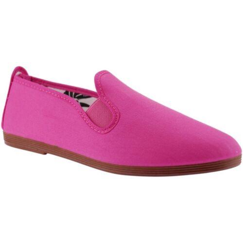 Women/'s Flossy Arnedo Plimsolls Pink
